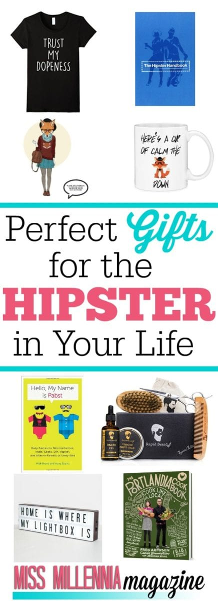 We all have the hipster friend in our group and buying gifts for them can be challenging. Here are the perfect gifts for the hipster in your life.
