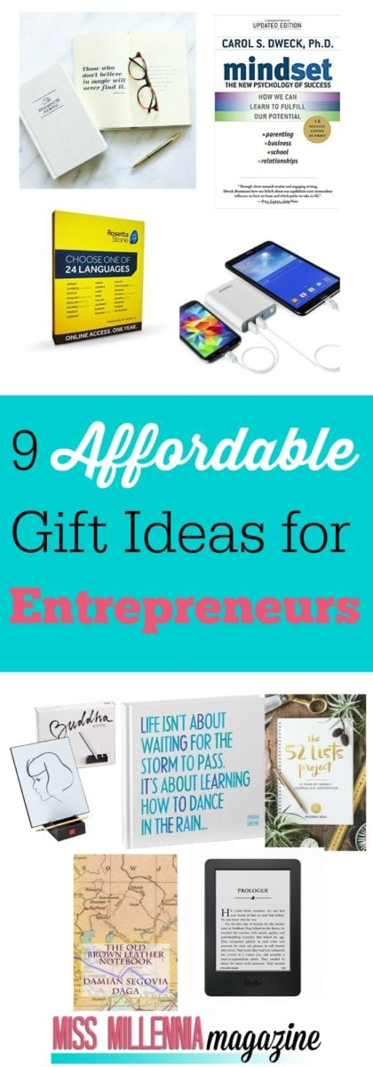 Entrepreneurship and side-hustles are something that is becoming more and more popular these days. And if you have a friend who has a business or is looking to start one, this list is perfect if you want to get them a gift this holiday season. The entrepreneur in your life will thank you for this one!