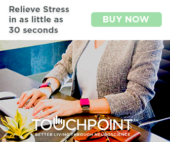 Adulting includes more stress. Relieve your stress through TouchPoint.