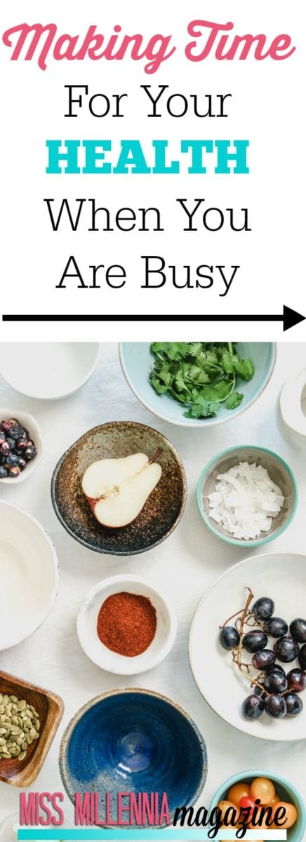 It's so easy to neglet your health when you are busy. But it's so important to maintain these key things. I'll tell you why.