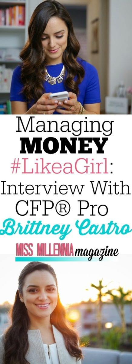 Meet Brittney Castro; CFP® Pro and the Founder of Financially Wise Women. Learn how she helps women every day with their finances.