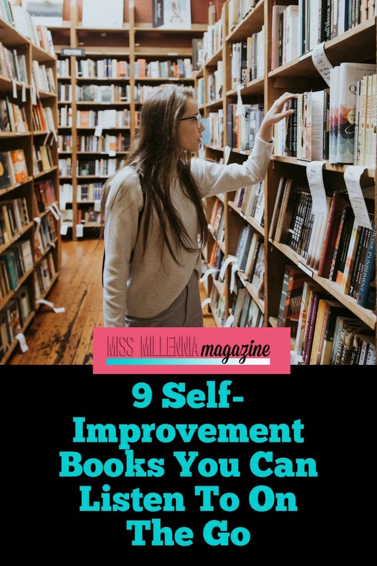 9 Self-Improvement Books You Can Listen To On The Go