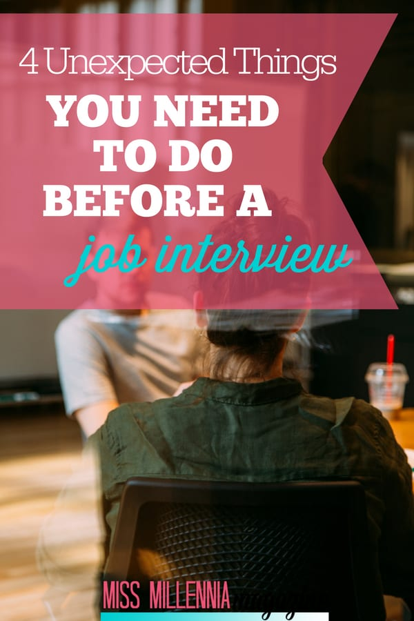 Besides researching the company and practicing questions, there are some unexpected things to do before a job interview. Learn how you should prepare here!