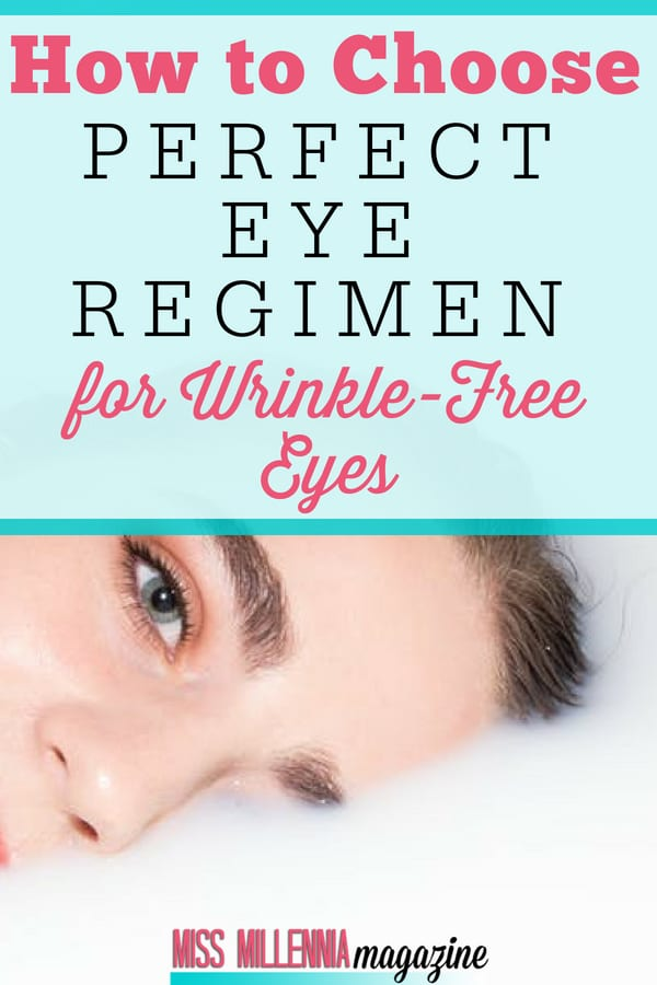 Premature wrinkles, smile lines, and crow's feet around eyes can be reduced with simple methods. Here is the perfect eye regimen you could try.