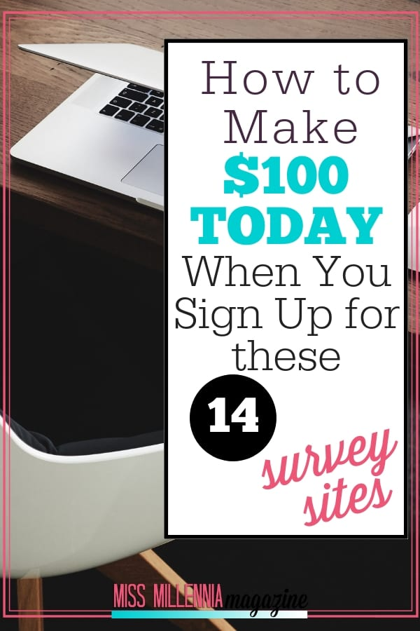How to Make _100 Today When You Sign Up for these 14 Survey Sites