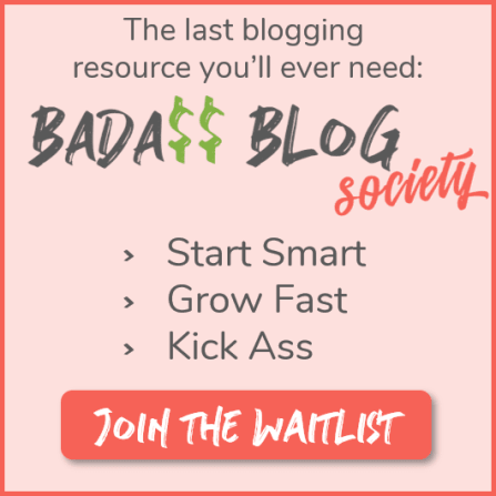 Badass Blog Society - The last blogging resource you'll ever need