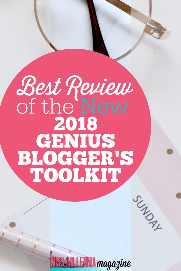 Best Review of the New 2018 Genius Blogger's Toolkit