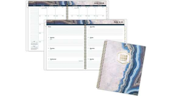 AT-A-GLANCE Sapphire Academic Weekly-Monthly Planner