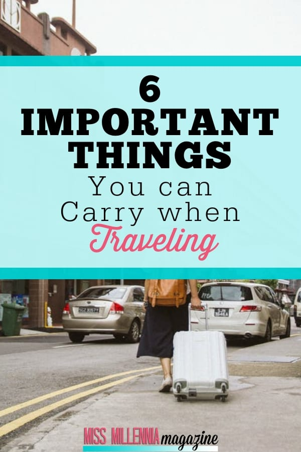 For a relaxing travel experience, it is essential to be prepared for everything. On that note, here are six unusual things you can carry while traveling.