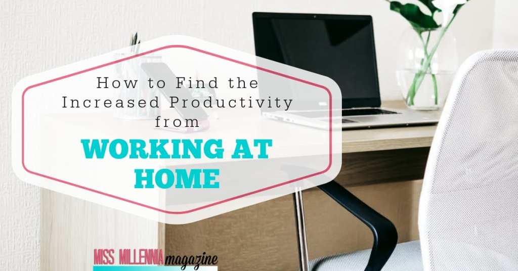 How to Find the Increased Productivity from Working at Home fb