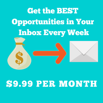 Blogging Money Update - Get the Best Sponsored Blog Opportunities In Your Inbox Every Week