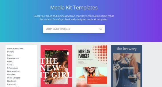 Having a good media kit with Canva is another way to make more money with sponsored posts.