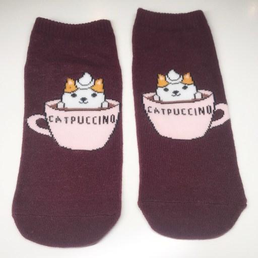 Socken Catpuccino