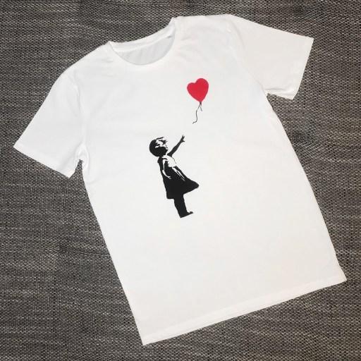 Banksy Shirt Shopping in Amsterdam