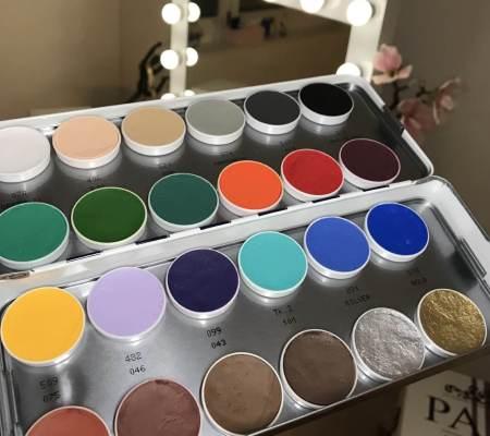 Aquacolor Palette von Kryolan