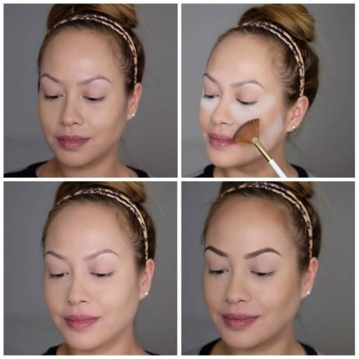 Makeup Baking Contourning Brows