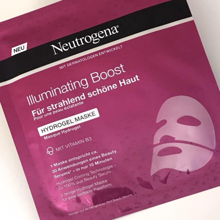 Neutrogena Hydrogel Masken Illuminating Boost