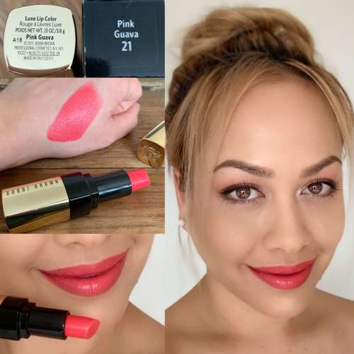 Bobbi Brown Pink Guava Swatch