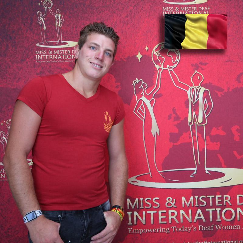 Mister Deaf Belgium (Ghishlain Morgan)