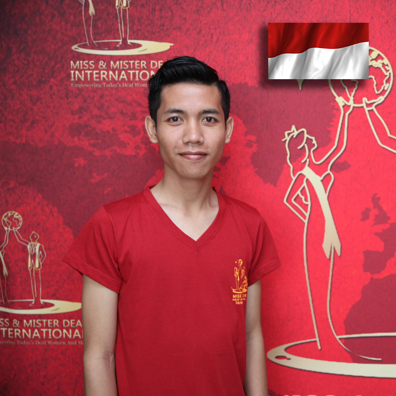 Mister Deaf Indonesia (Ketut Sudi Arsana)