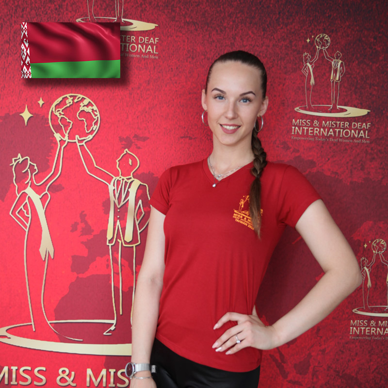Miss Deaf Belarus (Anastasia Viazovskaya)