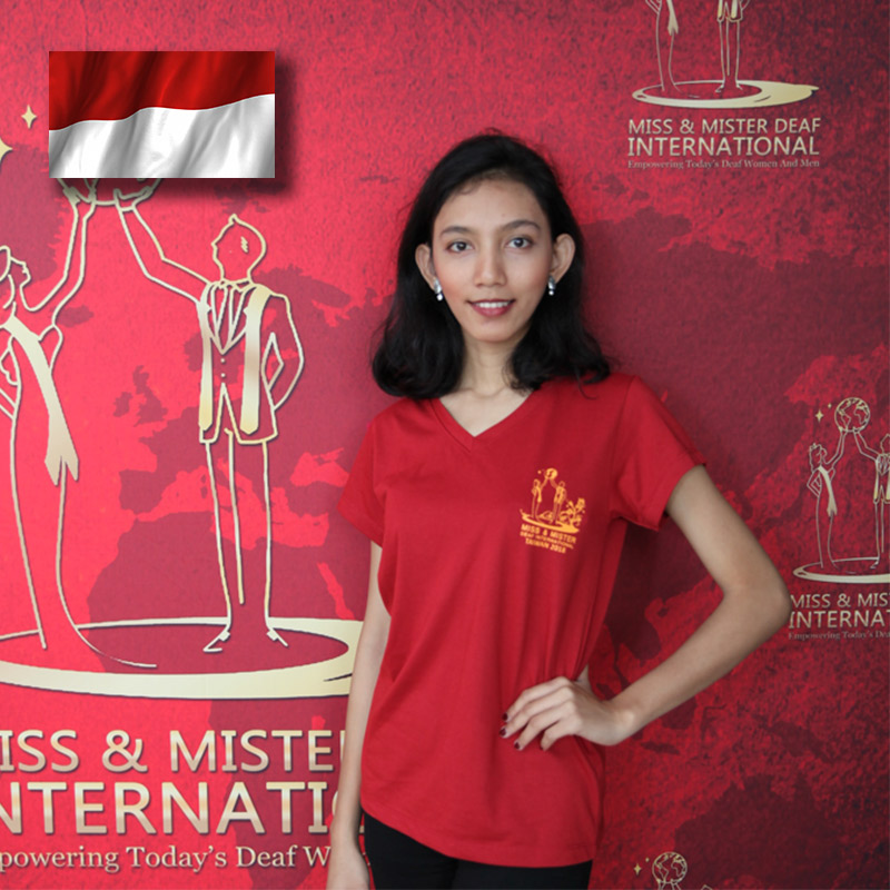 Miss Deaf Indonesia (Nadia Dwi Fahrani)