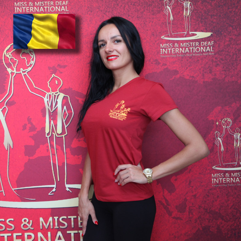 Miss Deaf Romania (Laura Rece)