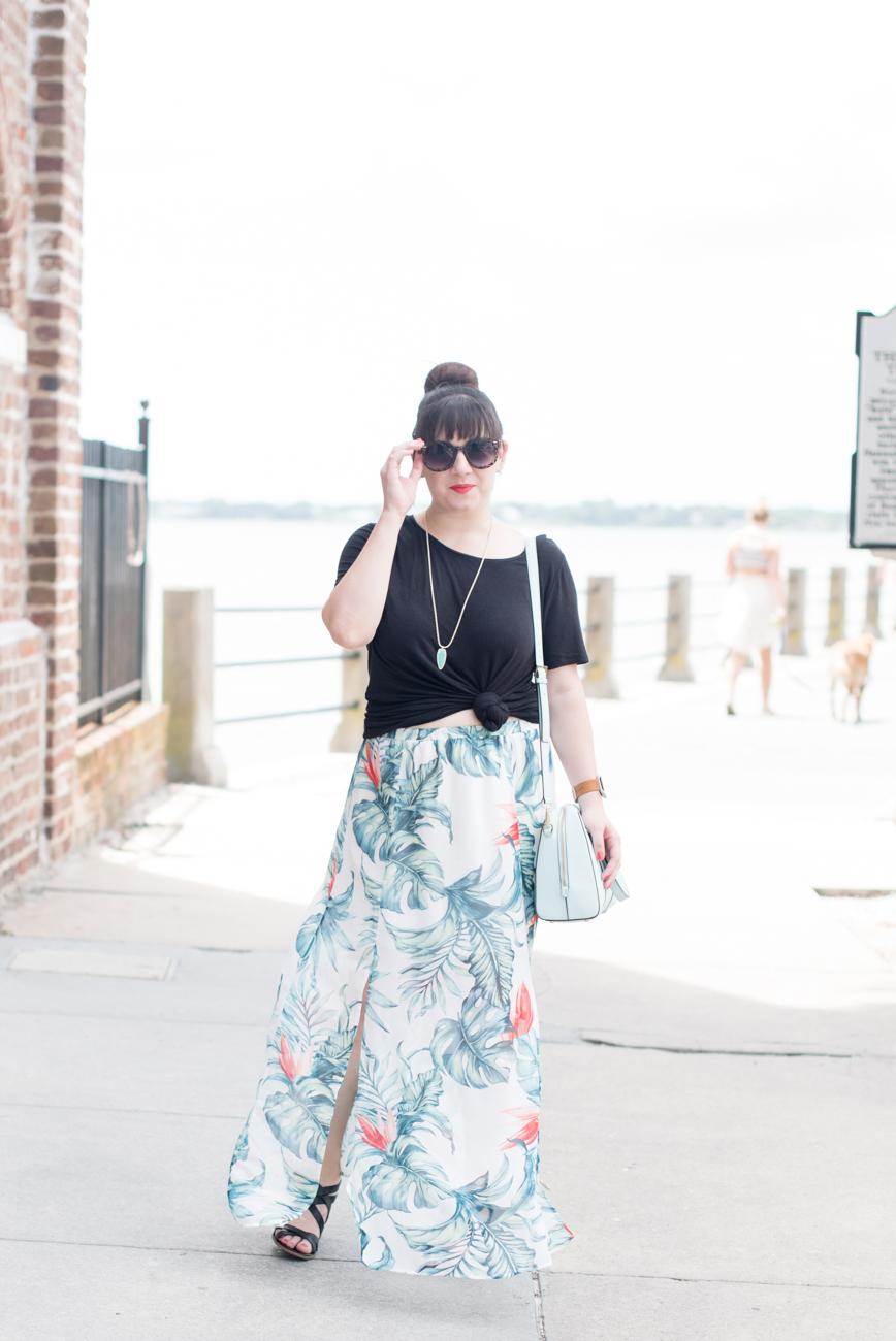 Palm Print Outfit Remix