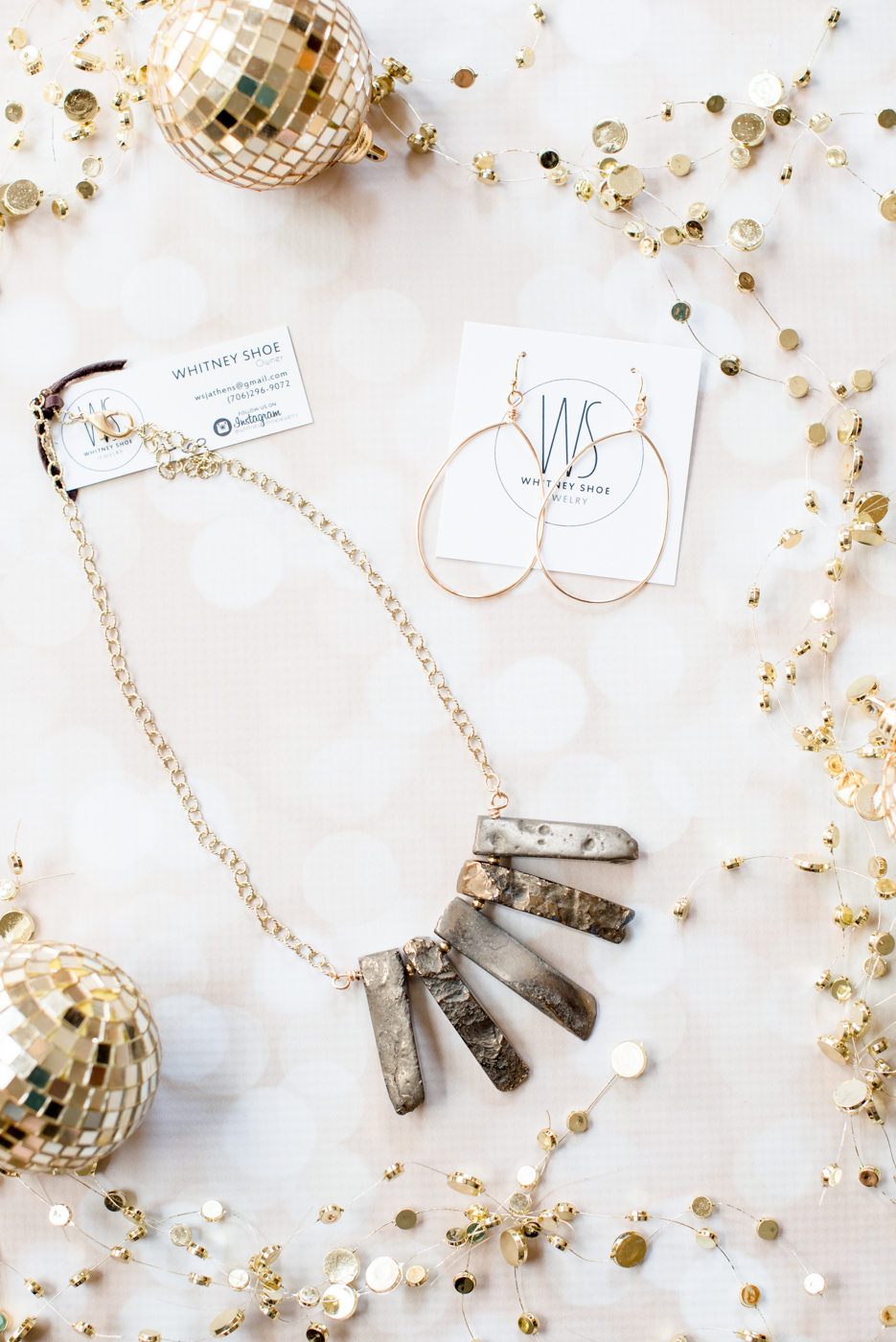 Whitney Shoe Jewelry | Shop Local Holiday Gift Guide | Athens, GA | @missmollymoon