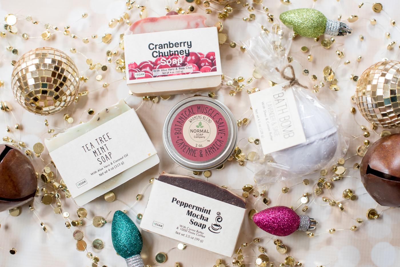 Normal Soap Company | Shop Local Holiday Gift Guide | Athens, GA | @missmollymoon