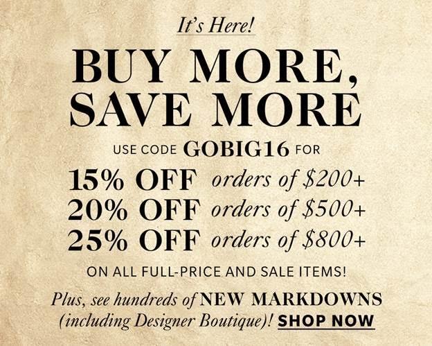 Shop the Shopbop sale!