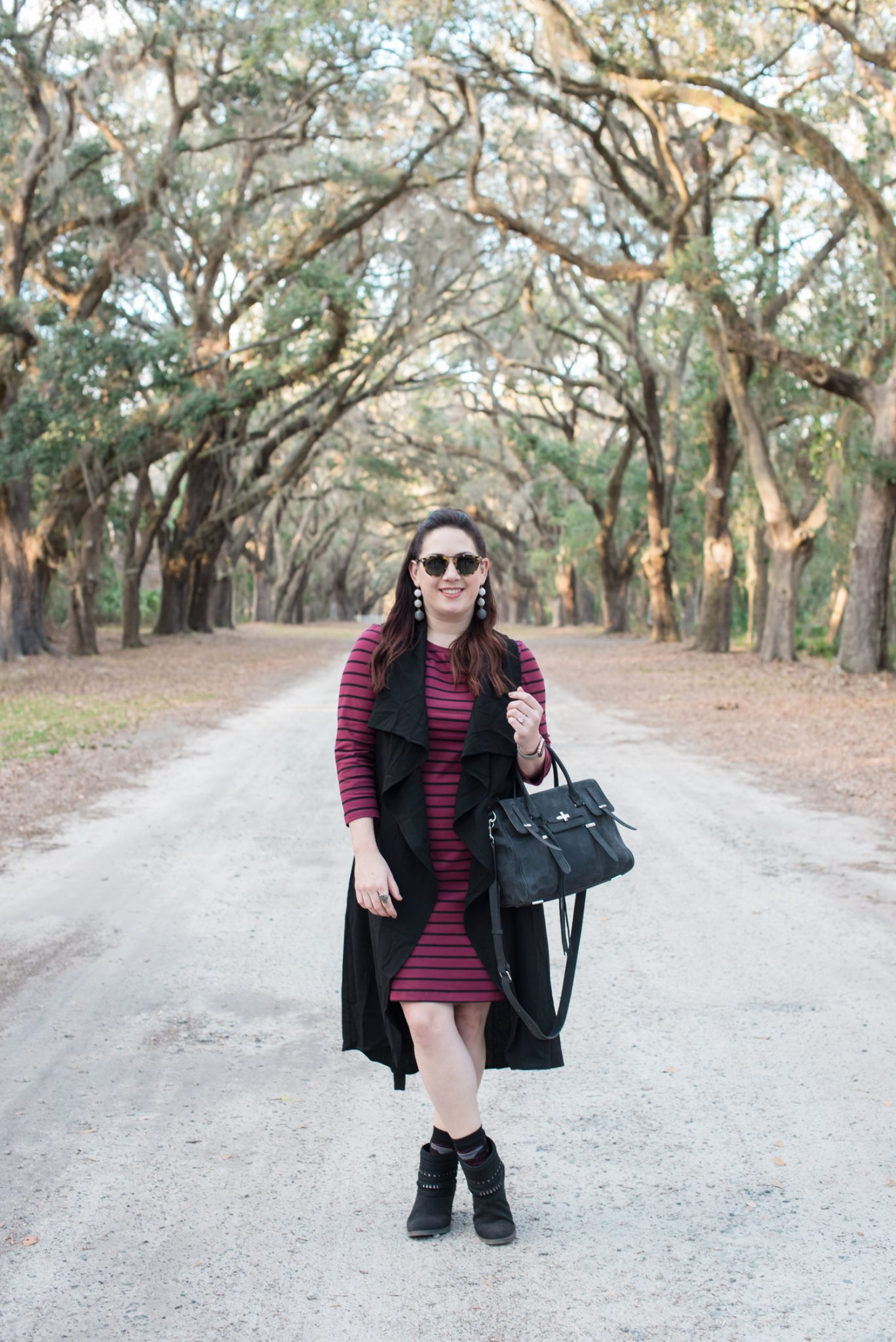Striped Shift Dress via @missmollymoon