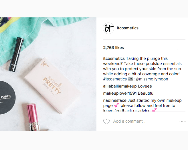 It Cosmetics Instagram Feature