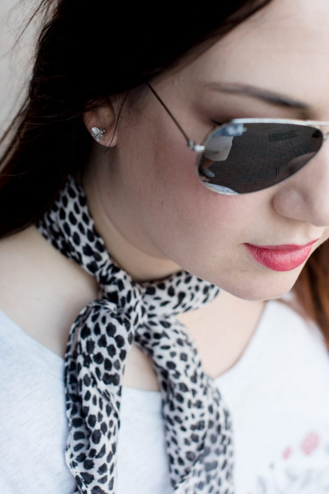 Try the Trend: Styling a Neck Scarf