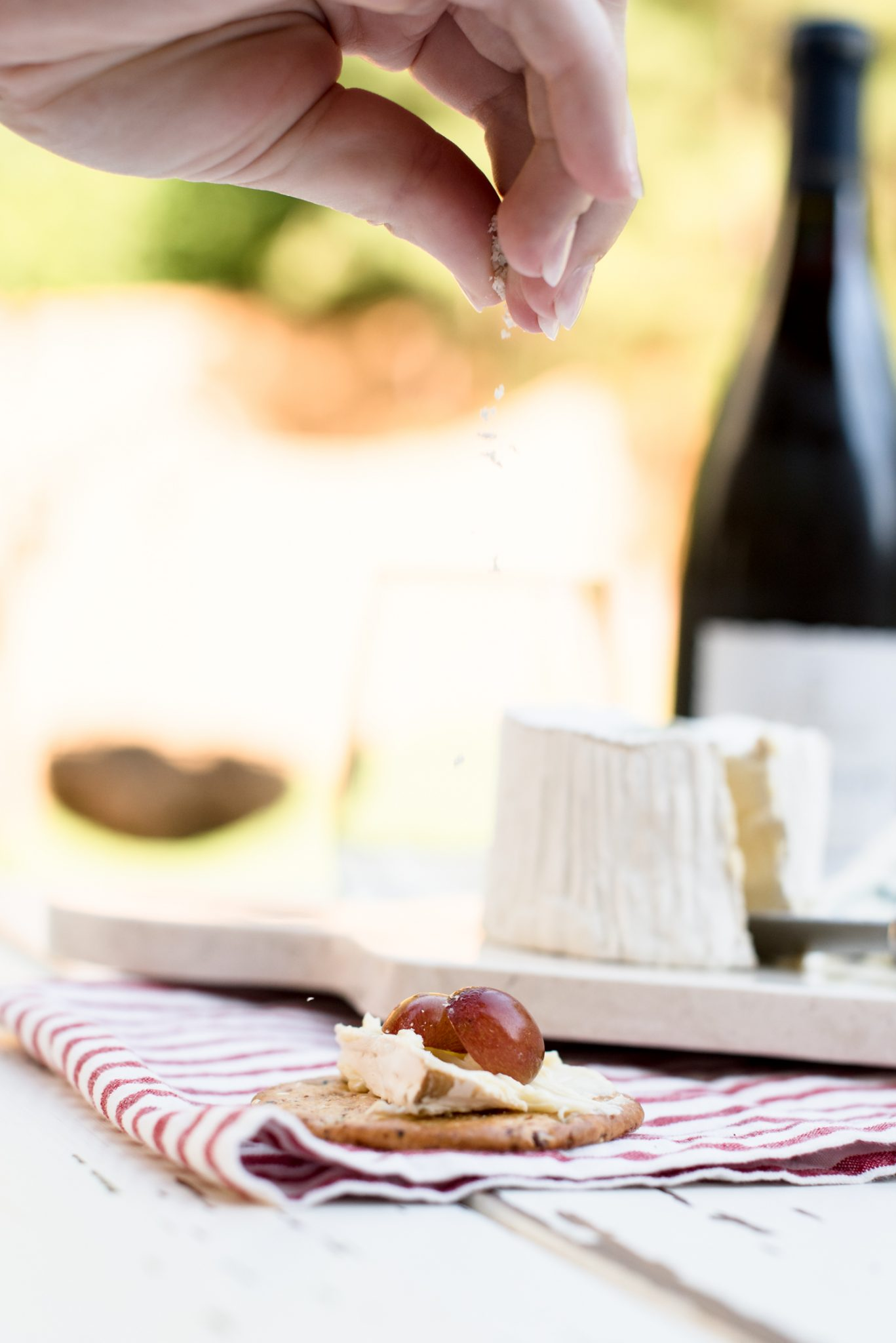 French Wine & Cheese on a Summer Night // Miss Molly Moon