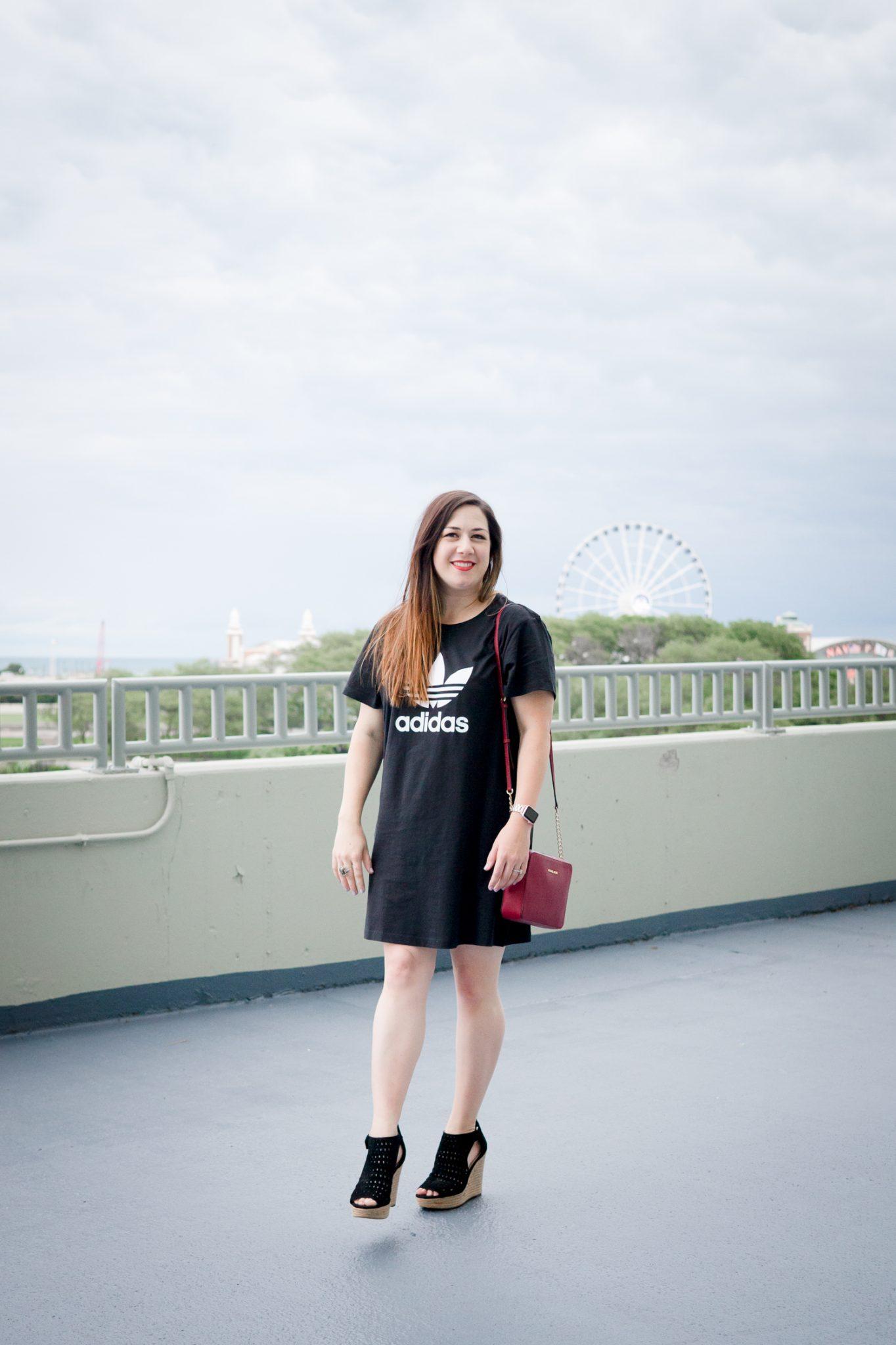 How to Dress Up a T-Shirt Dress \\ Miss Molly Moon