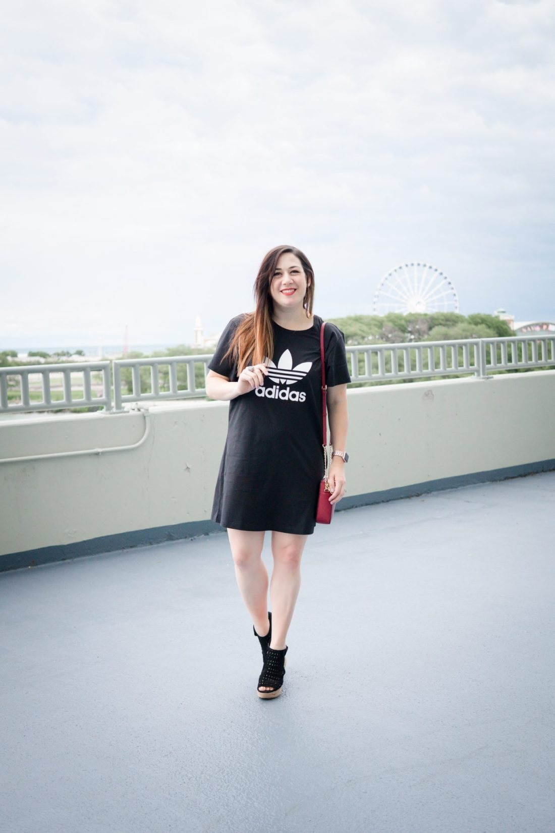 How to Dress Up a T-Shirt Dress \\ Miss Molly Moon