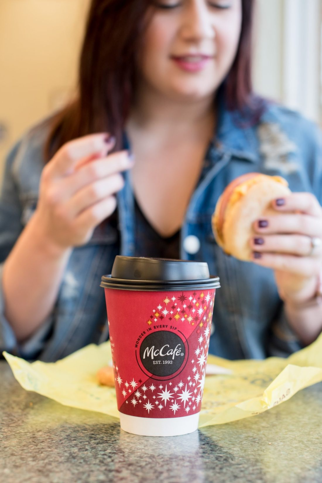 Nothing Comes Before McCafé Coffee // Miss Molly Moon
