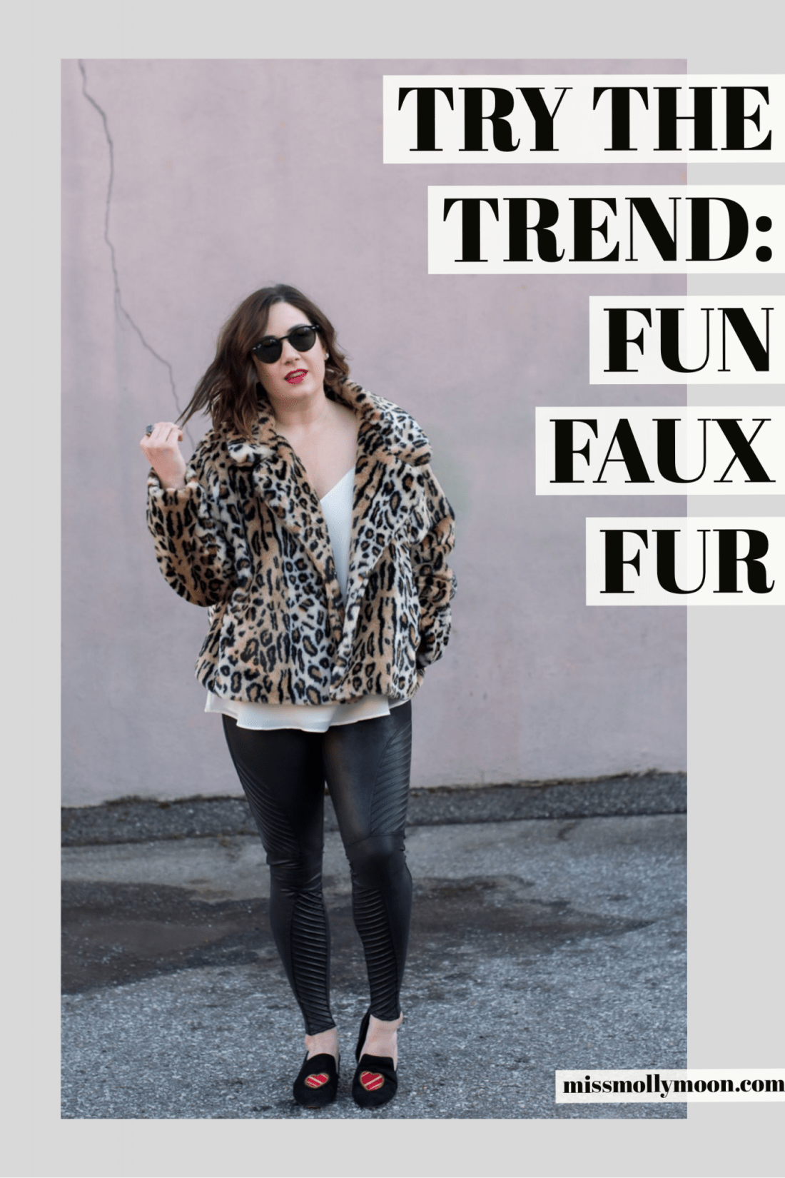 Try the Trend: Fun Faux Fur  //  Miss Molly Moon