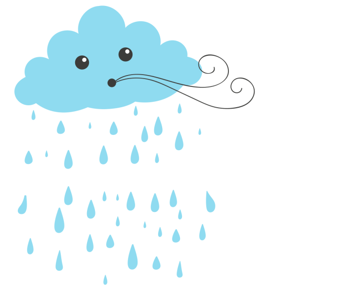 Vom Regen in die…