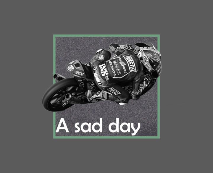 Ein trauriger Tag