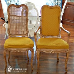 How To Replace Cane Back Chair With Fabric Cover Hire Market Harborough Best Of Mms French Makeover Tutorial Miss Mustard Seed I