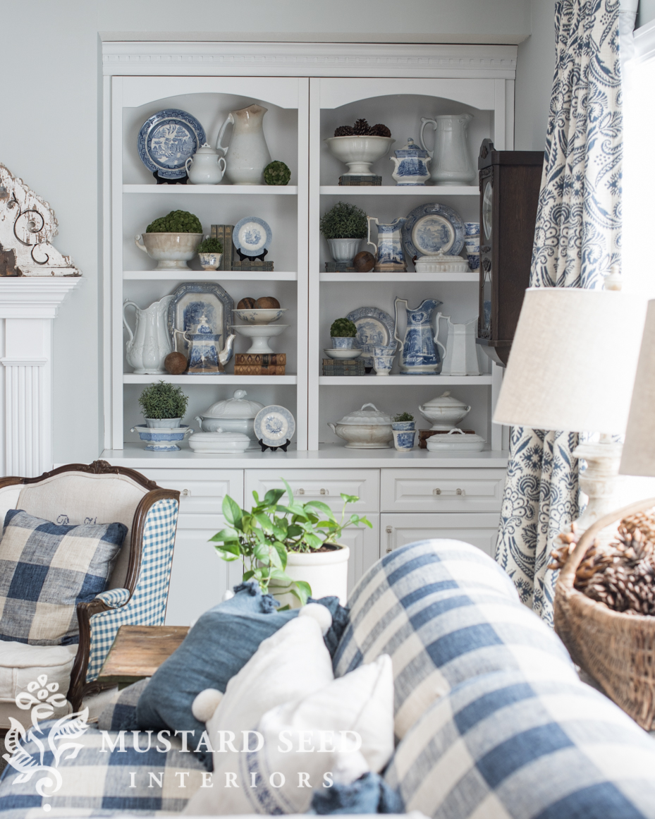 Restyling The Dining Room Hutch Miss Mustard Seed