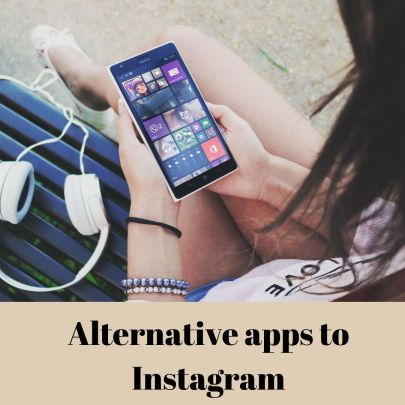 Social Media Apps like Instagram. instagram alternative for artists.