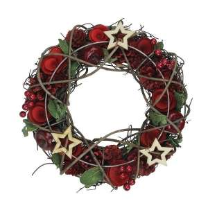 Apple and berries Wreath