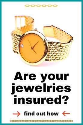 Are your jewelry insured? Find out how you can buy an insurance policy for your diamond ring and jewelries