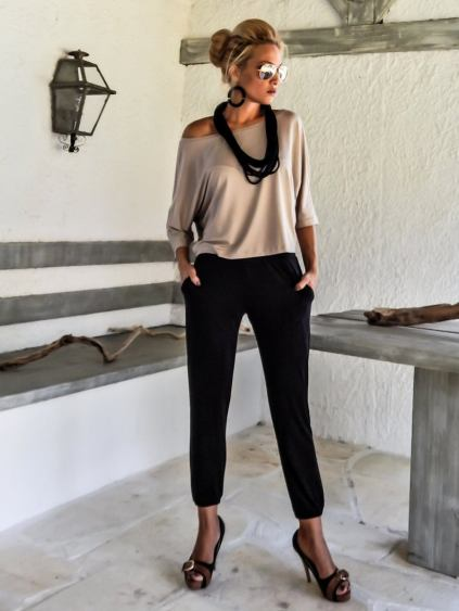 Beige Loose Top for Mothers Day gift . Mother's Day gifts ideas worth every single penny.