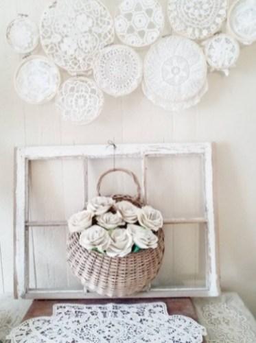 Bride bridal bouquet paper flowers