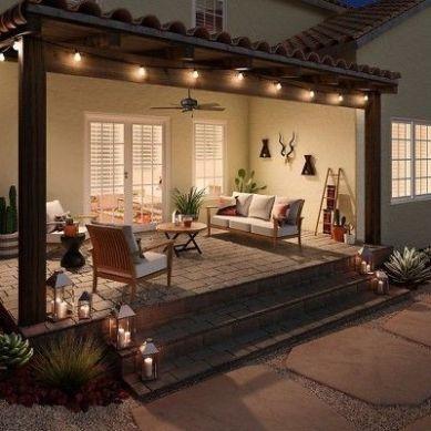 Californian porch decor inspiration