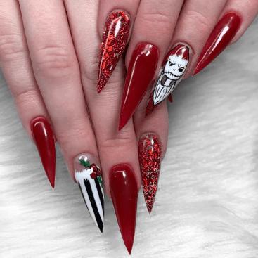 Christmas nails design